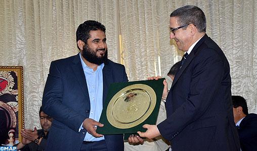 Hommage au Raja d'Agadir, champion du Maroc de handball