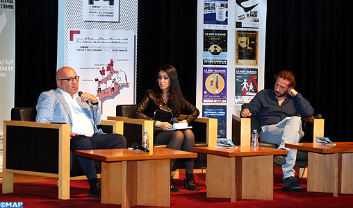 """8ème """"Nuit blanche"""" du cinéma et des droits de l'Homme à Rabat: Présentation des résultats d'une enquête sur le sens et les valeurs du travail chez les salariés marocains"""