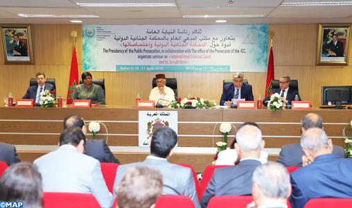 Rabat: Séminaire de sensibilisation sur la Cour pénal internationale et ses compétences