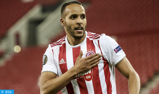 Moroccan Youssef El Arabi offers Olympiakos the title of champion of Greece