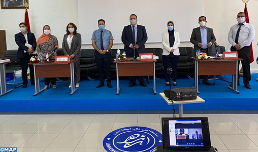 Agadir: Une thèse soutenue en économie dans le respect total des règles sanitaires