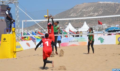 Beach-volley: coup d'envoi à Agadir des qualifications africaines aux JO de Tokyo