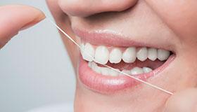 Resultado de imagen de foto hilos de seda dentales
