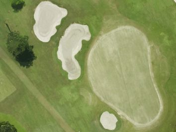 High resolution drone map of golf course using drones for geospatial application MapGage
