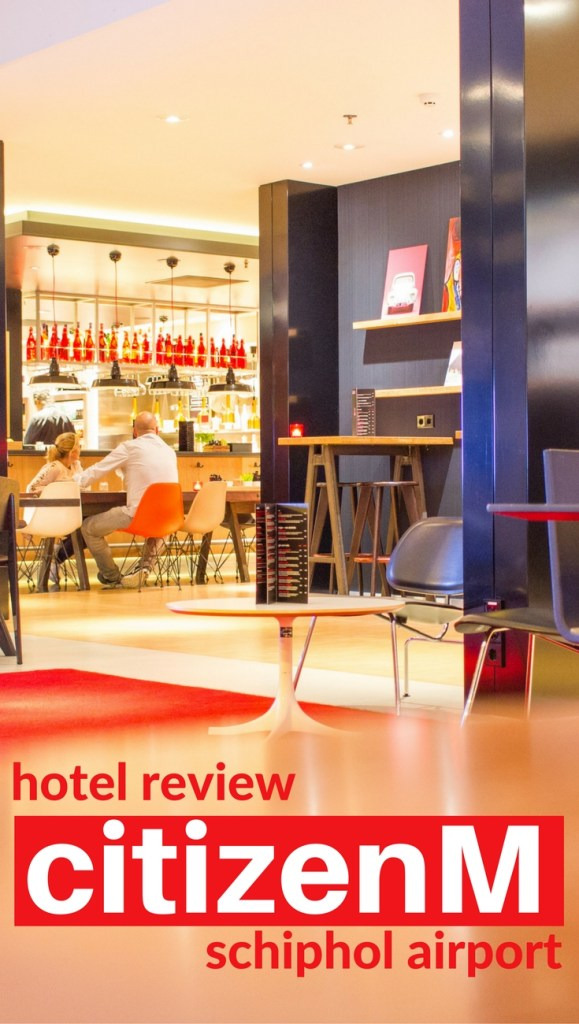 Hotel Review - citizenM Schiphol Airport