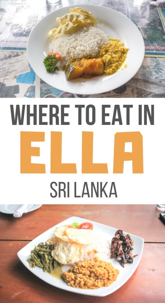 Where to Eat in Ella, Sri Lanka