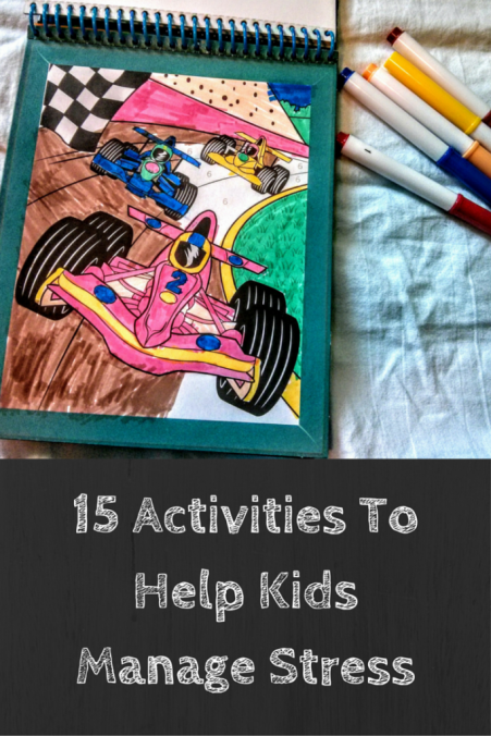 15 Stress-busting Activities for Kids | Self-care for kids | Stress busters