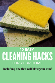 10 Tried & Tested Cleaning Hacks