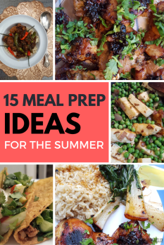 15 Meal Prep Ideas To Help You Survive The Week