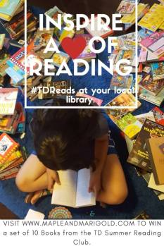 Inspire a love of reading; sometimes it's the unexpected {+Giveaway}