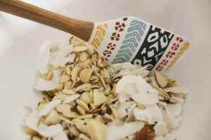 nuts and coconut pineapple macadamia nut granola