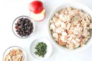 ingredients for chicken salad 2