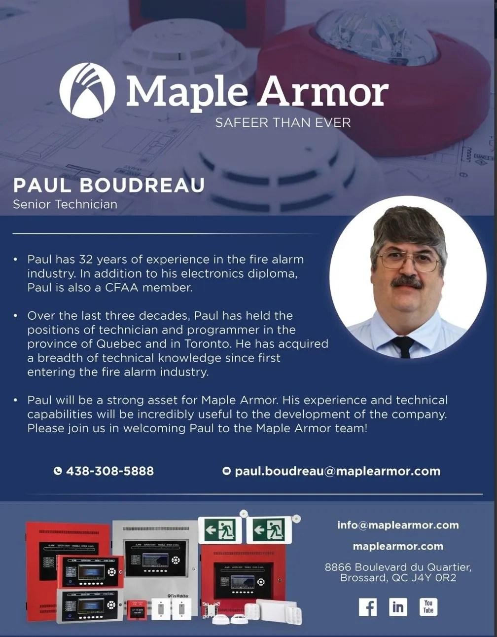 Maple armor technician