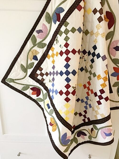 Flowers in the Garden Quilt Pattern