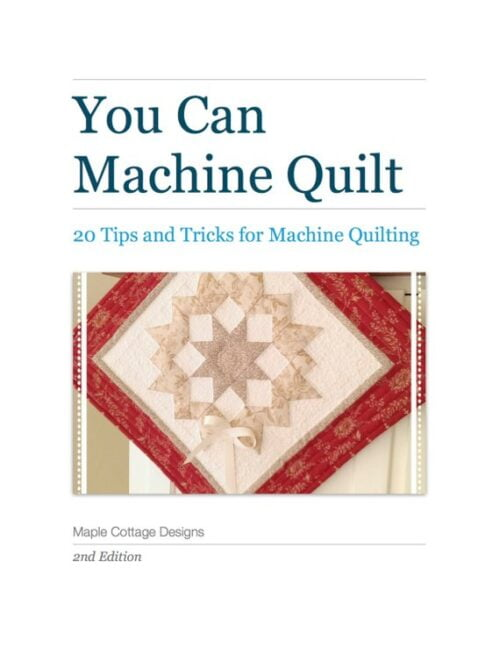 You Can Machine Quilt eBook