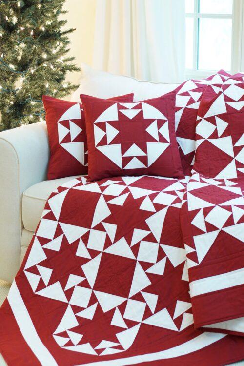 Starlit Road Quilt Pattern & Pillow Pattern