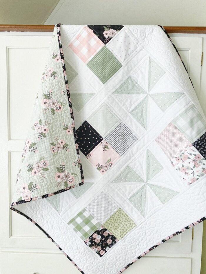 Pinwheel Patch Quilt Pattern