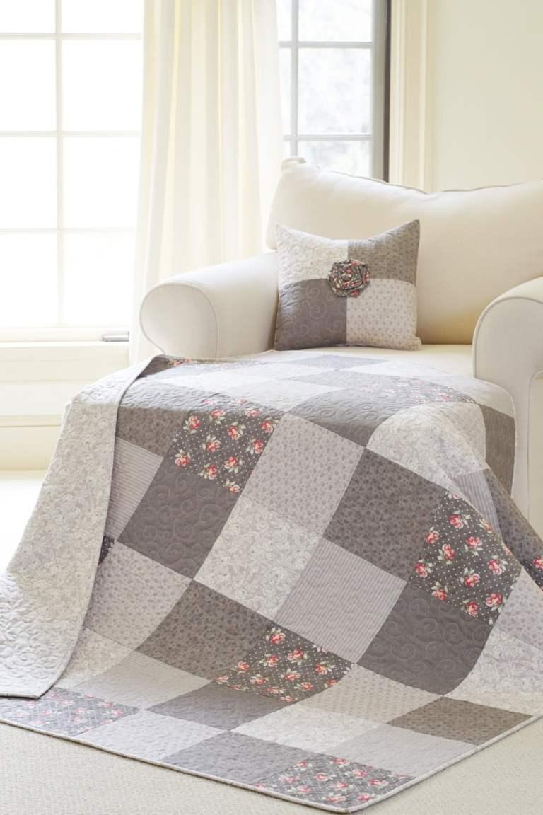 Bella Rose Quilt & Pillow Pattern