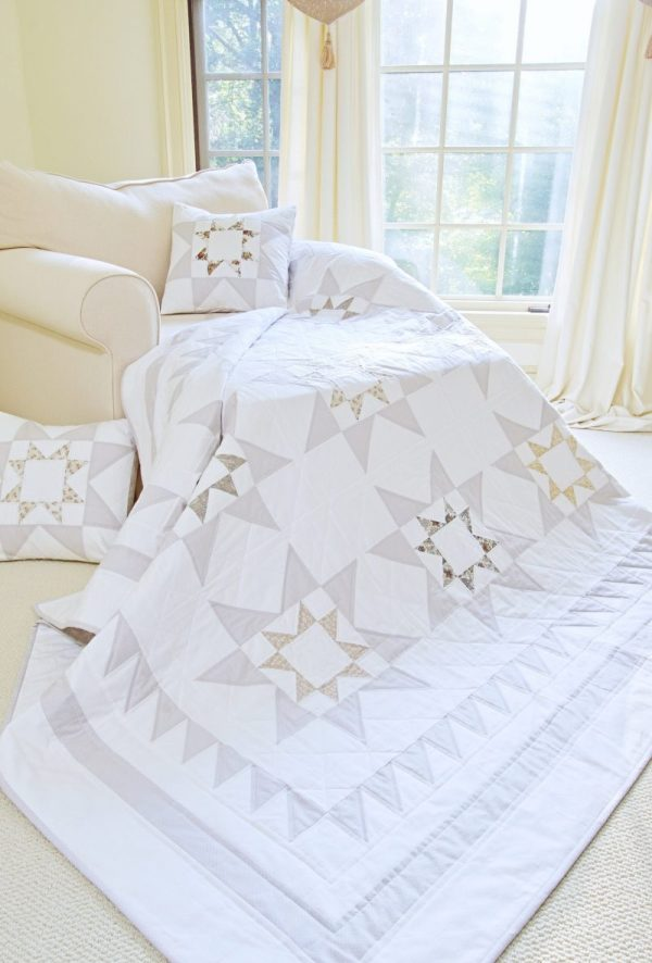 Captivating Stars Quilt Pattern pic 1
