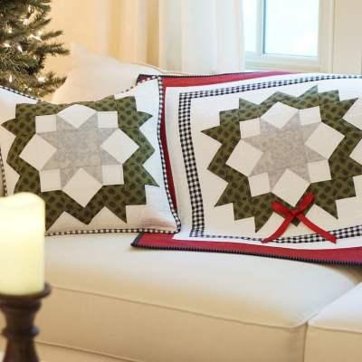 Evergreen Christmas Wreath Table Runner pic 1