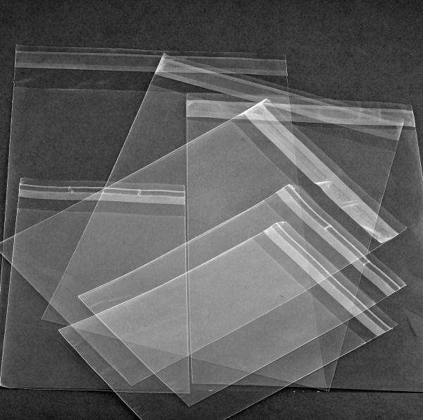 Polypropylene resealable bags
