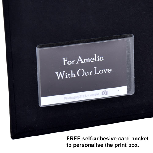 Free self-adhesive card pocket