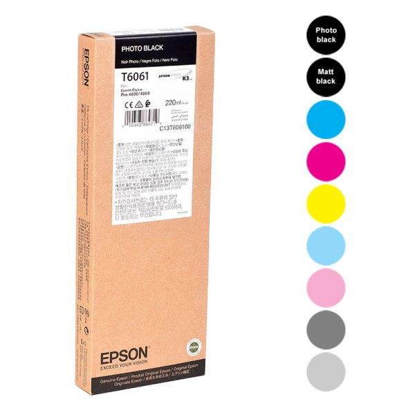 Epson Stylus PRO 4800/4880 220 ml Ink Cartridges