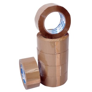 Adhesive brown vinyl tape