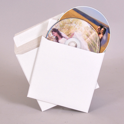 CD/DVD Peel & Stick Mailer - two disc