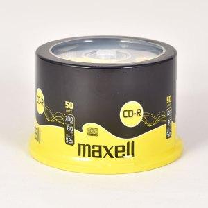 Maxell 52x CD-R DISCS