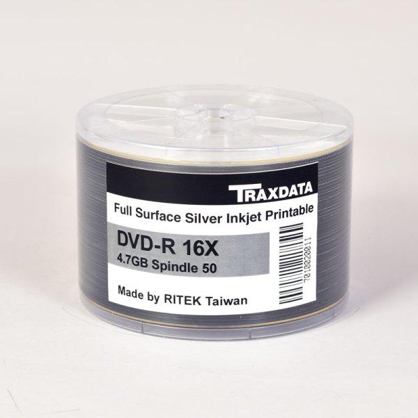 Traxdata 16x PRINTABLE DVD -R SILVER