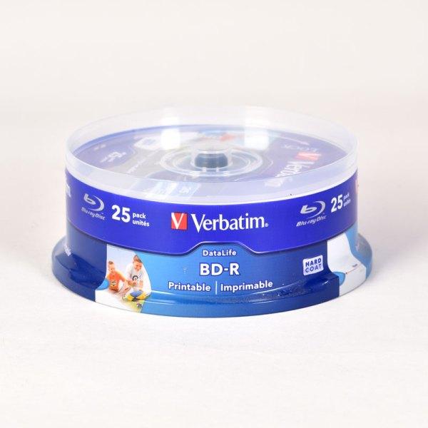 Verbatim BLUE RAY 6x PRINTABLE BD-R DISCS