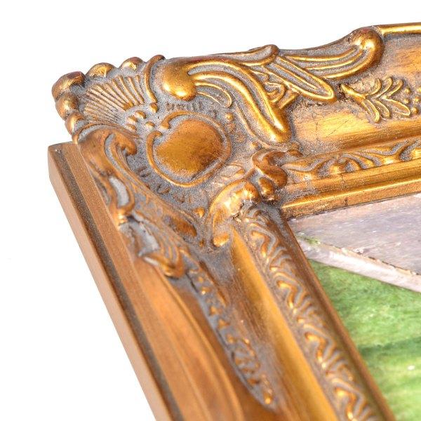 Swept frame 678 in gold