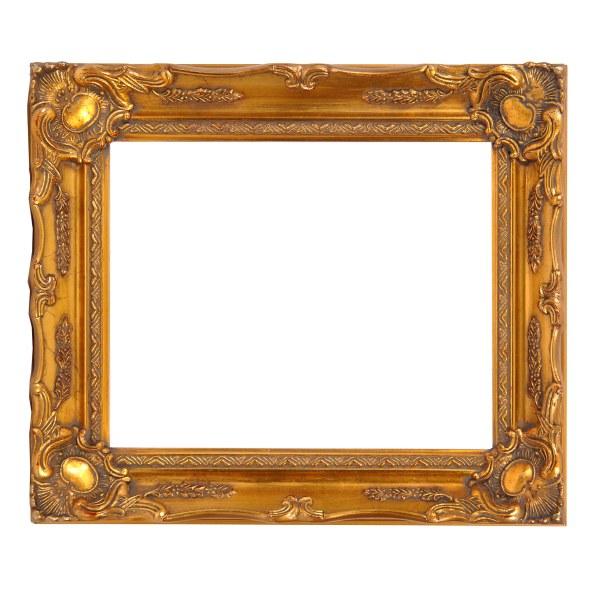 Swept frame 678 gold