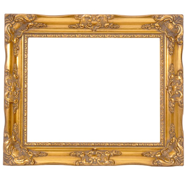 Swept frame 814 gold