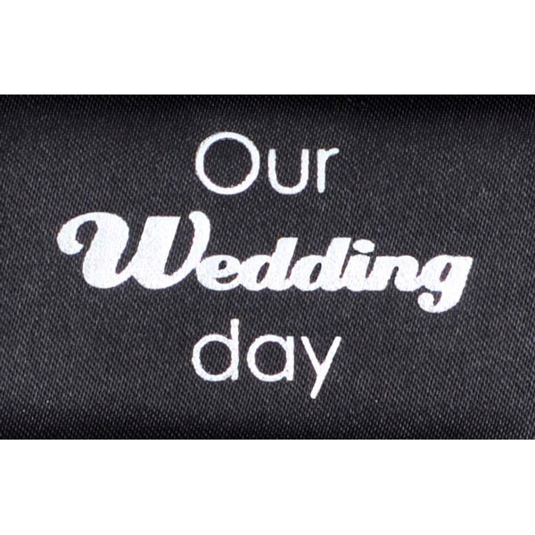 "Luxury presentation box foiling ""Our Wedding day"""