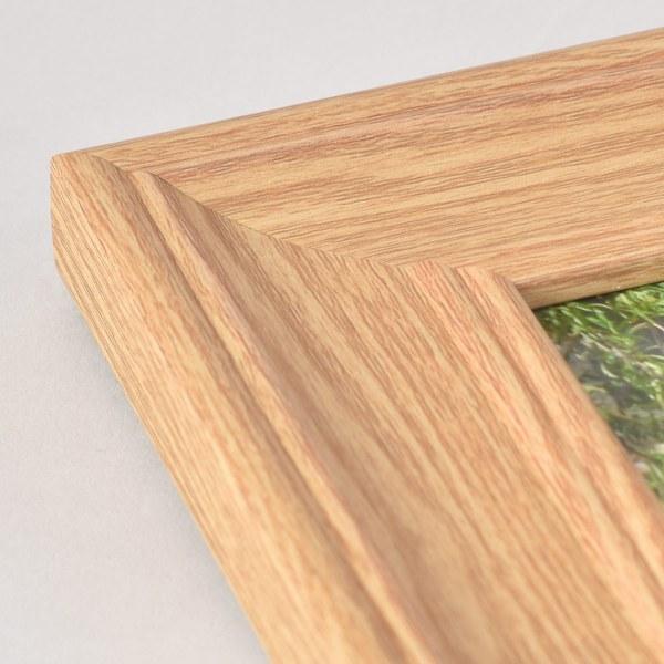 Fraya 46 light wood frame corner