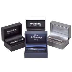 Luxury presentation box with Wedding foiling