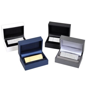 Luxury presentation box with flash drive