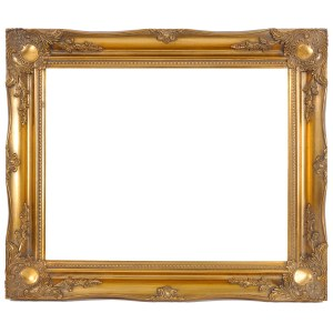 Swept frame 829 in gold