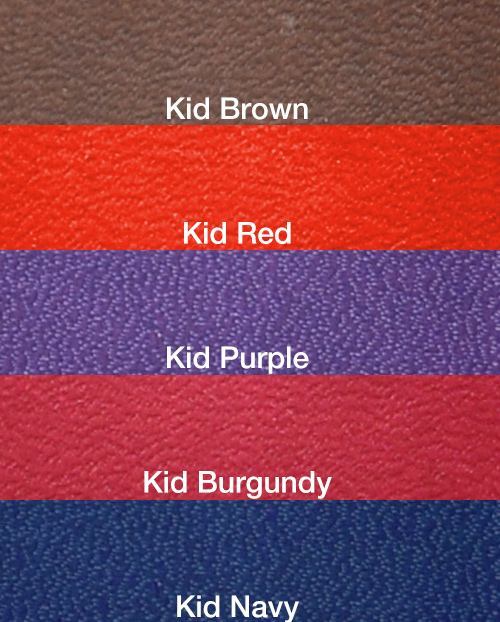 Kid material colour swatches