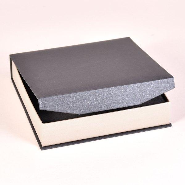 Bliss 2 print box in grey/silver
