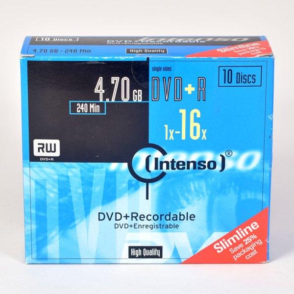 Intenso DVD+R discs