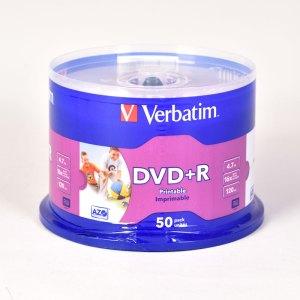 Verbatim PRINTABLE DVD+R DISCS