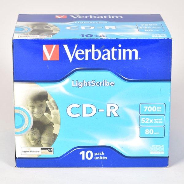 Verbatim LightScribe CD-R DISCS