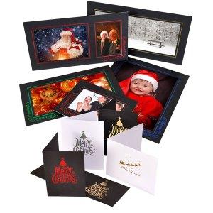 Christmas Foiled Mounts & Folders