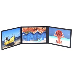 "Event 6"" x 4"" triple photo folio"