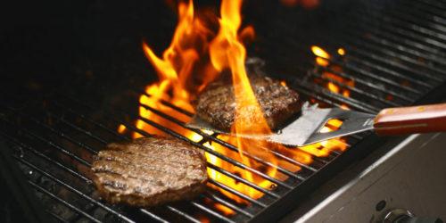 grilling burger