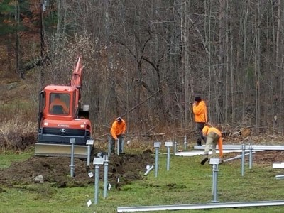 solar panel crew