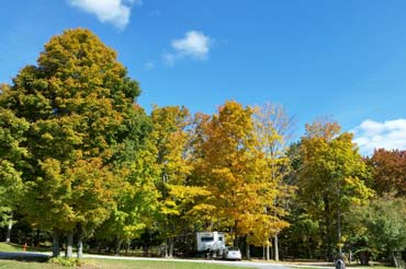Fall Foliage Camping in Vermont | Top Vacation